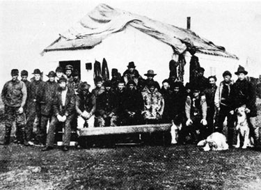 Portion of survivors at Point Barrow.