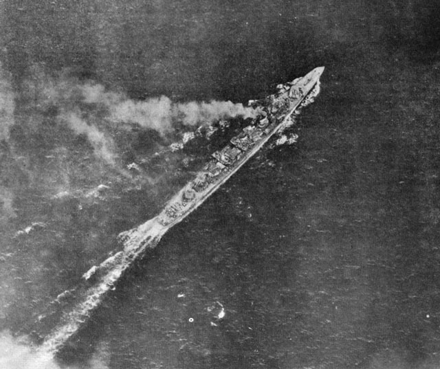 DD Shimakaze - off Leyte 11 November 1944.