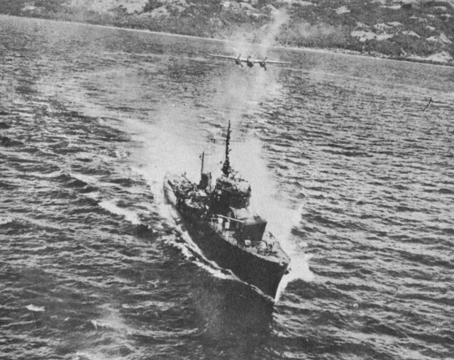 KAIBOKAN at Ormoc Bay 10 November 1944.