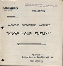 Cover of 'Japanese Operational Aircraft - Revised'.