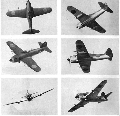 Six images of GEORGE II Navy Interceptor Fighter.