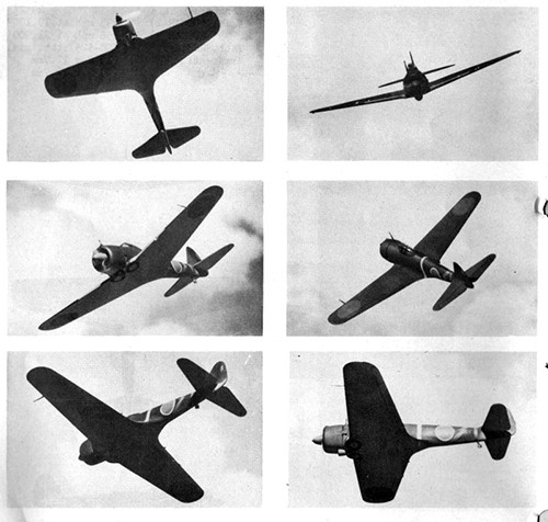 Six images of OSCAR 2 & 3 Army Fighter.