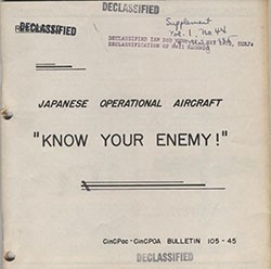 Cover of 'Japanese Operational Aircraft'.