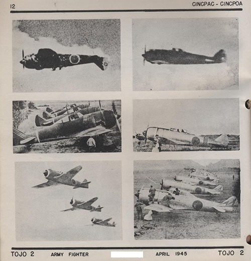 Six images of TOJO 2 Army Fighter.