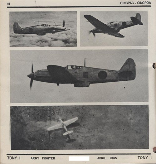 Four images of TONY 1 Army Fighter.