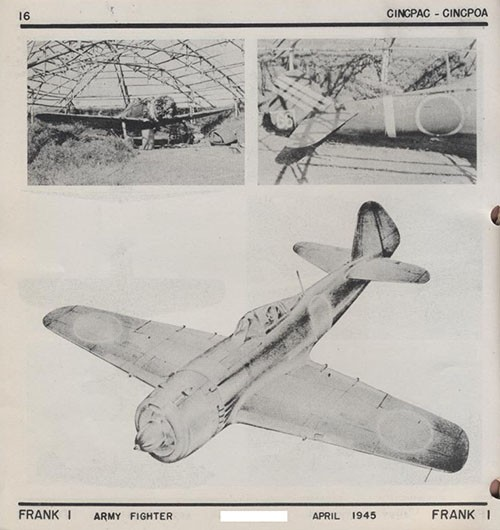 Three images of FRANK 1 Army Fighter.