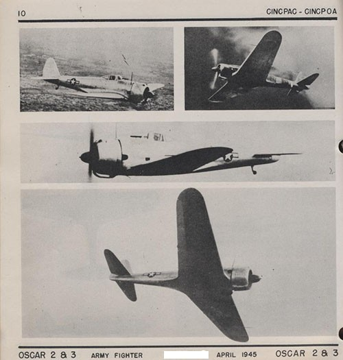 Four images of OSCAR 2 & 3 Army Fighter.