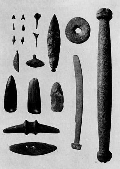 Plate 2 Neolithic Stone Implements