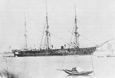 USS Colorado about 1871.