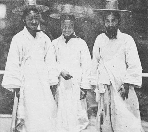 Koreans on USS Colorado 1871.