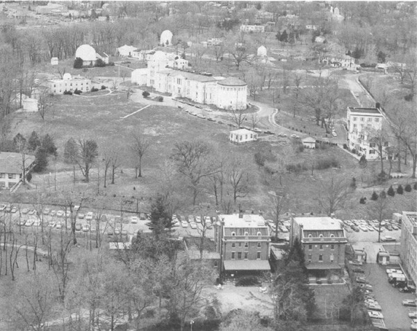 Aerial view of present U.S. Naval Observatory, Washington, D.C.