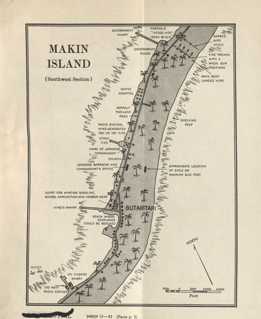<p>Makin Island Southwest Section&nbsp;</p>