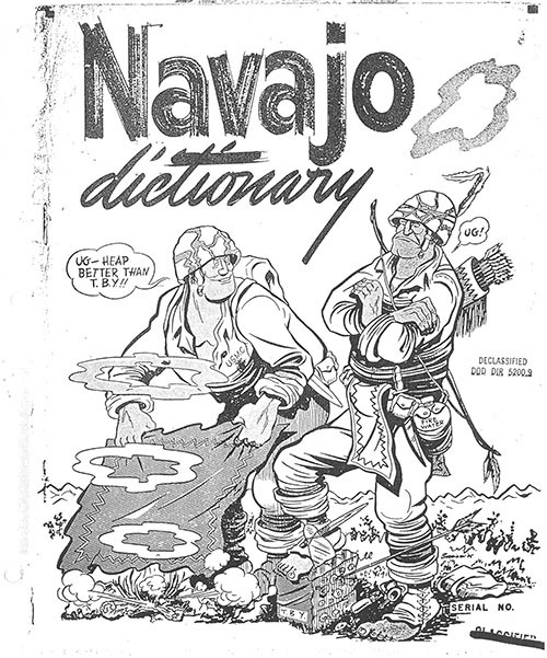 Navajo Code Talkers' Dictionary cover