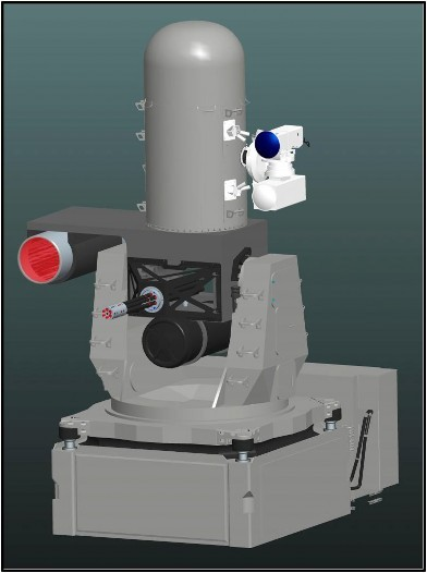 Figure C-2. Rendering of LaWS Integrated on CIWS Mount