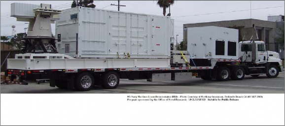 Figure E-1. Photograph of MLD on Trailer