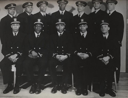"""Eleven of the above men were recently appointed to the temporary rank of Ensign D-V (S), and one to Warrant Officer, USNR, to rank from February 23, 1944. They were directed to report to the Commanding Officer, US Naval Training Station, Great Lakes, Illinois, for temporary duty under instruction."