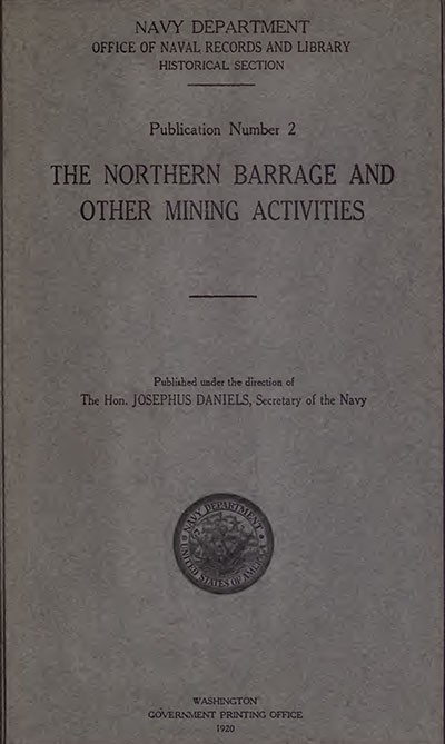 Cover image to Northern Barrage.