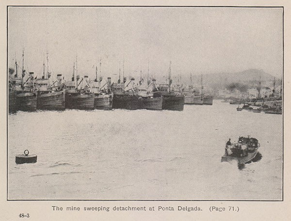 The minesweeping detachment at Ponta Delgada. (Page 71.)