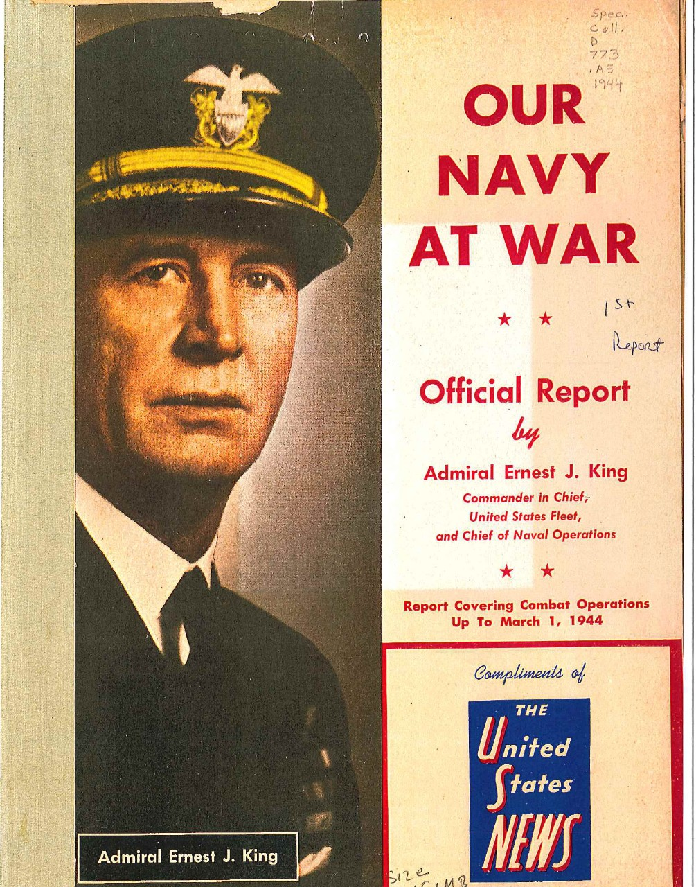 <p>Our Navy at War cover&nbsp;</p>