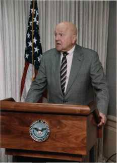 """Mayor of the Pentagon"" David O. (Doc) Cooke, Director of Administration and Management."