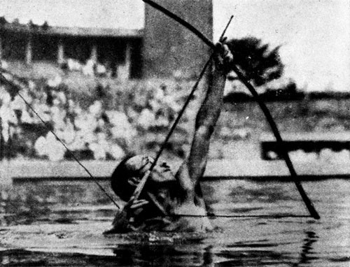 ... and the Shinto-style swimming contests. But all-in-all, as prewar tourists, we thought the Japanese were pretty good people.