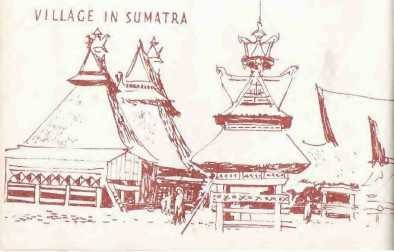 Illustration of temples.