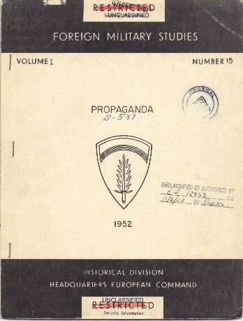 Image of cover: Propaganda MS# B-587.