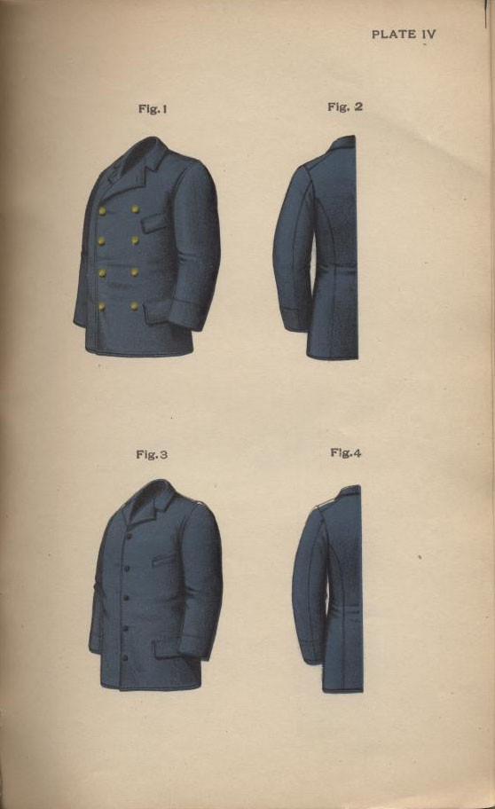 Plate IV 1897 Uniform Regulations.