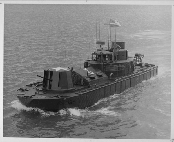 Figure 3-7. Command and control boat (CCB).