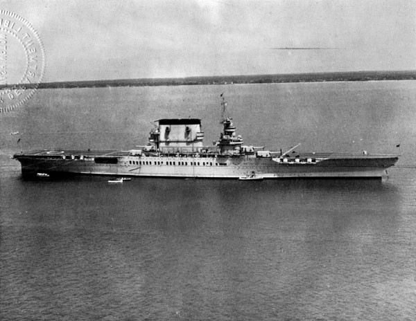 Image of USS Lexington.