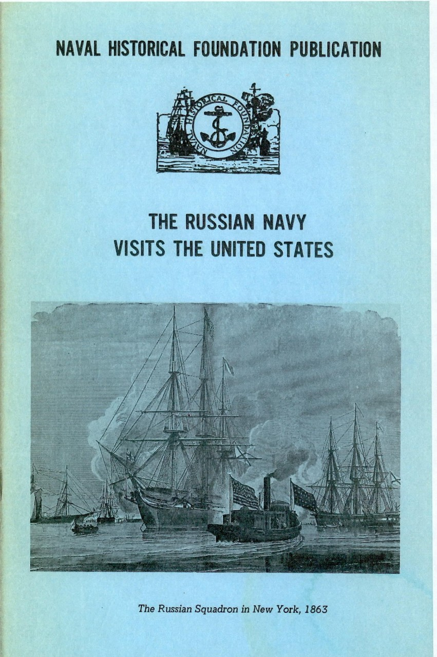 Cover photo - The Russian Navy visits the United States
