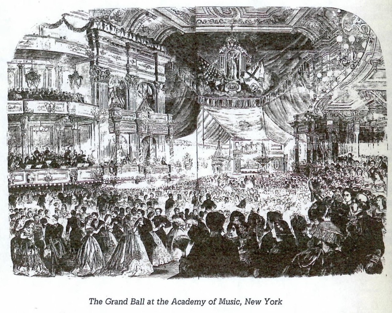 The Grand Ball at the Academy of Music, New York