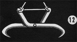 Drawing of a bale hook.