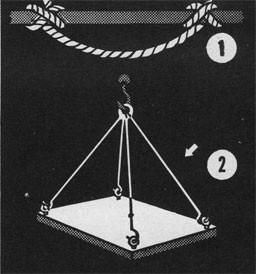 Drawing showing two examples of a bridle.