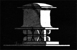 Drawing of a vertical windlass.