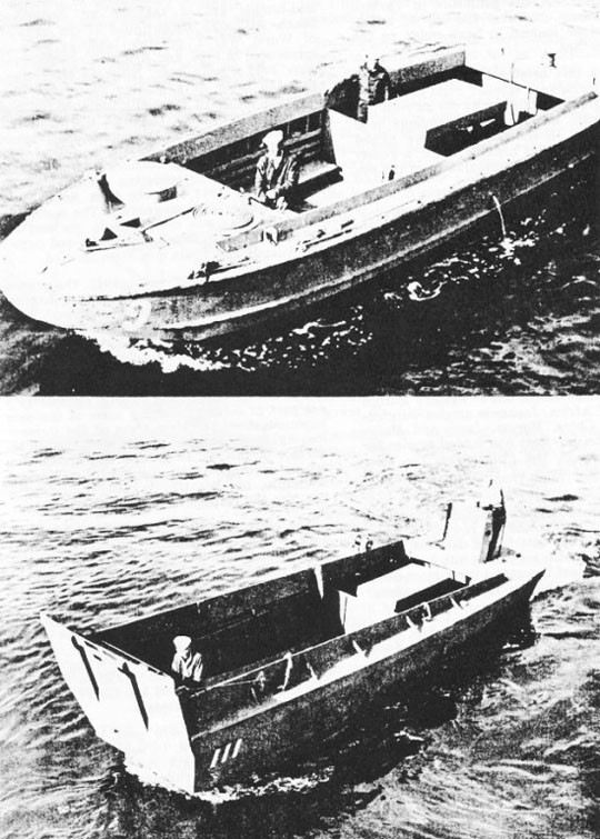 The LCP(L) and the LCV, Forerunners of the LCVP