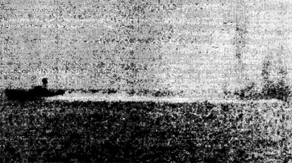 P-4 torpedo boat under fire from Maddox, 2 August.