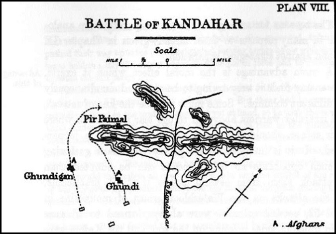 Plan VIII. Battle of Kandahar.