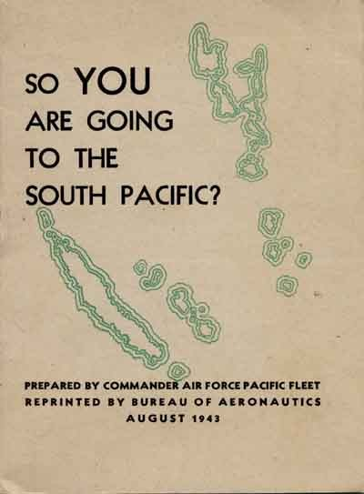 So You are Going to the South Pacific? Cover