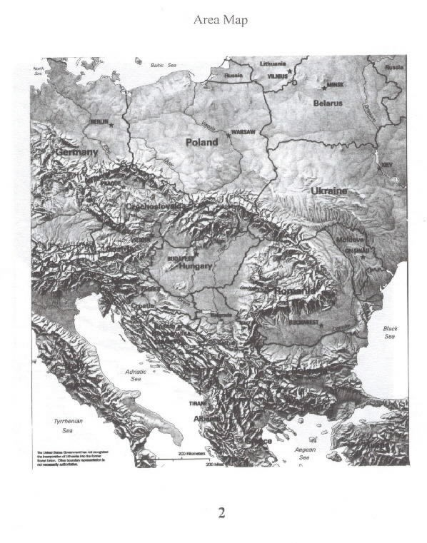 Image of Area map Bosnia-Herzegovina