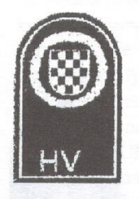 Image of Croatian Army (HV) patch