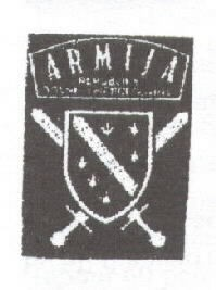 Image of Army of Bosnia-Herzegovina (ABiH) patch