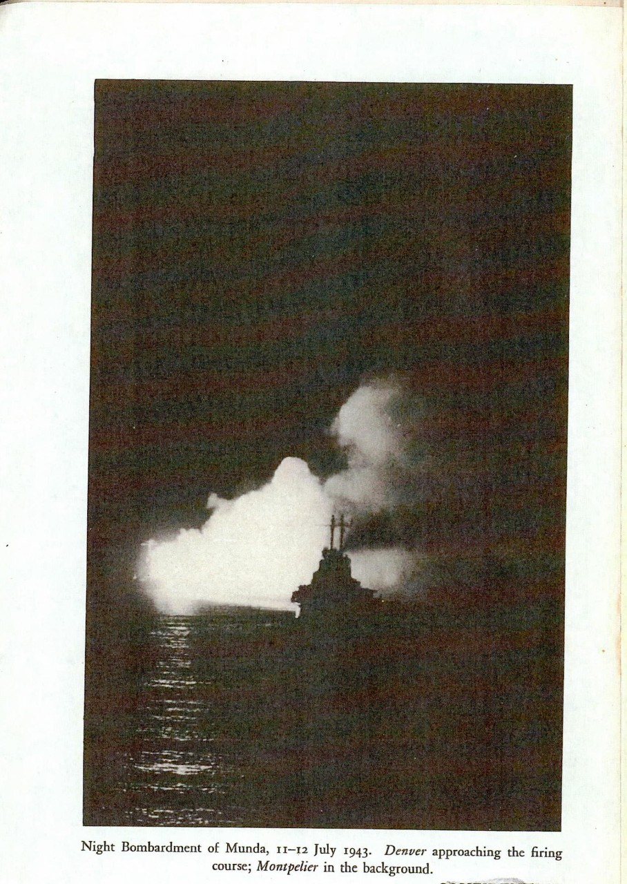 Night bombardment of Munda, 11-12 July 1943