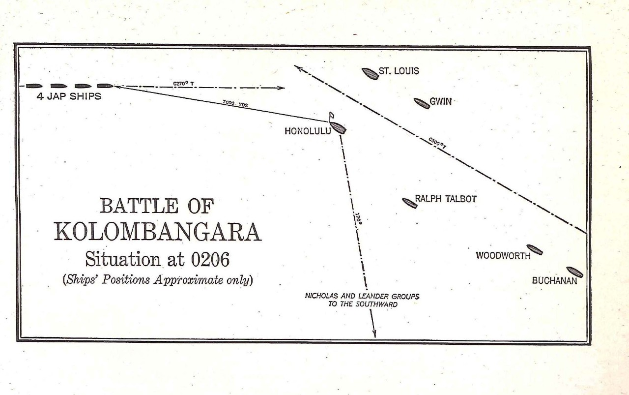 Battle of Kolombangara