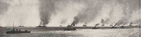 Figure 6. Photograph of the Allied fleet at the Dardanelles