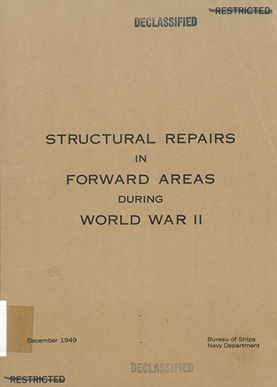 """Structural Repairs in Forward Areas During WWII"" cover image."