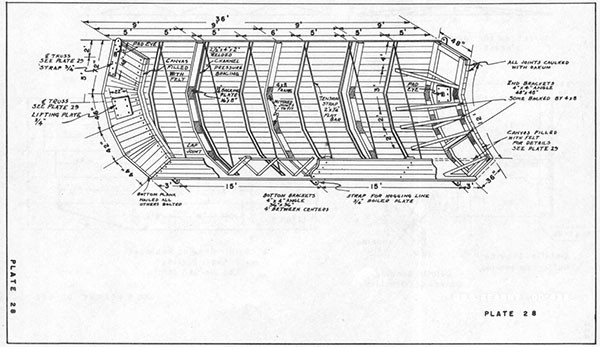PLATE 28 - U.S.S. KEARNY DD-432 - Replacement Shell.