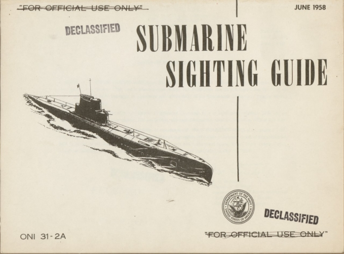 Submarine Sighting Guide Cover