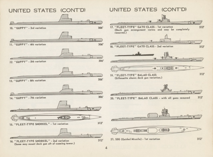 Page 4 - United States submarines continued