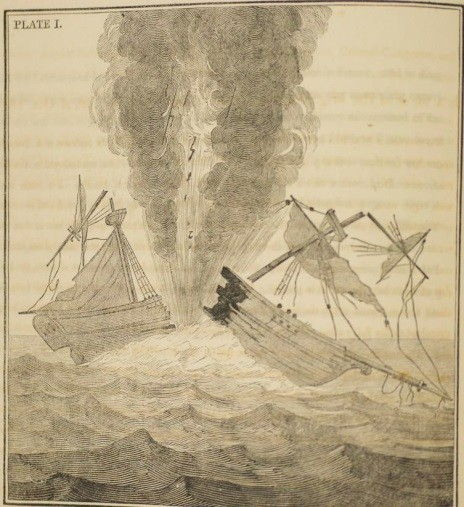 Plate No.1 first edition Torpedo War 1810